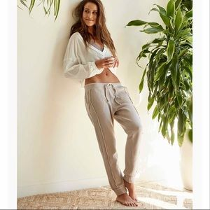 ♥️Free People Work It Out Jogger In Gray♥️